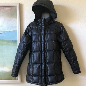 THE NORTH FACE Black Down Jacket Medium 600 Fill